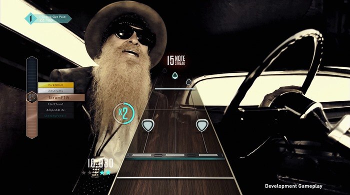Guitar Hero Live GHTV screenshot ZZ Top