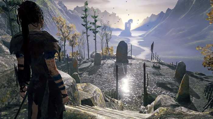 Hellblade screenshot setting