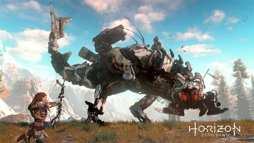 Horizon New Dawn screenshot Thunderjaw