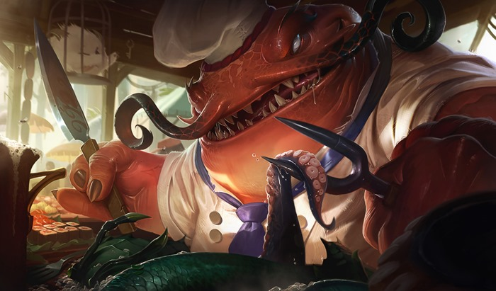 League of Legends Master Chef Tahm Kench skin wallpaper