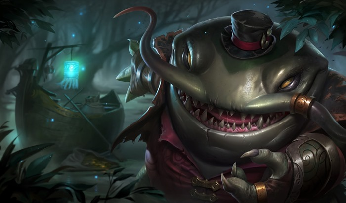 League of Legends Tahm Kench splash wallpaper