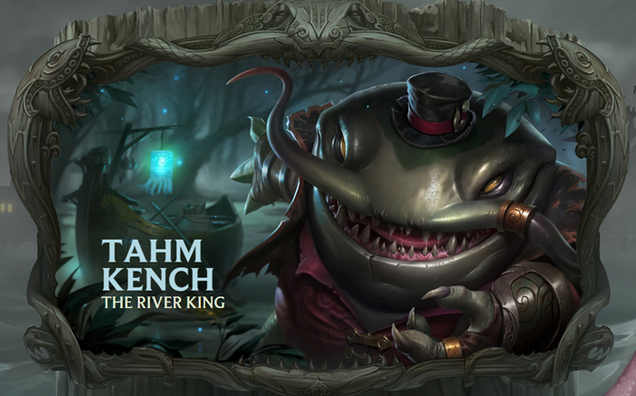 League of Legends champion Tahm Kench The River King wallpaper