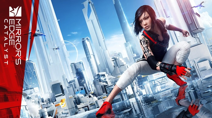 Mirror's Edge Catalyst wallpaper logo