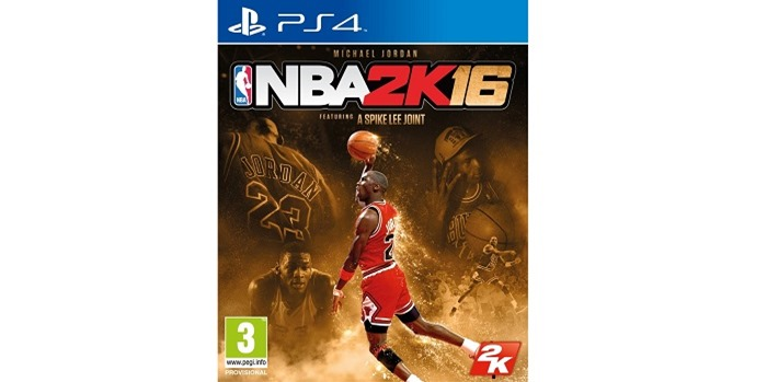 NBA 2K16 Special Edition Michael Jordan cover