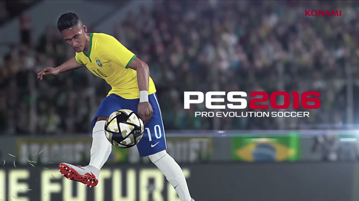 PES 2016 Cover Star Neymar Jr.
