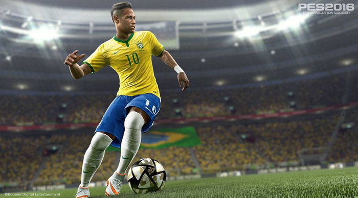 PES 2016 screenshot Neymar Jr.