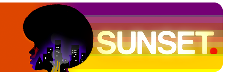 Sunset logo header