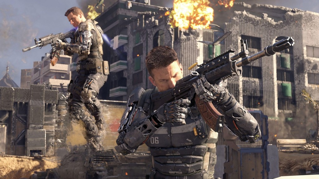 Call of Duty Black Ops 3 multiplayer screenshot team