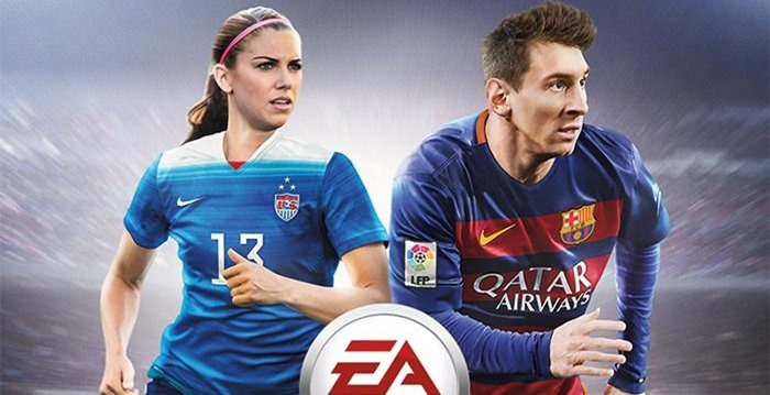 FIFA 16 cover Alex Morgan
