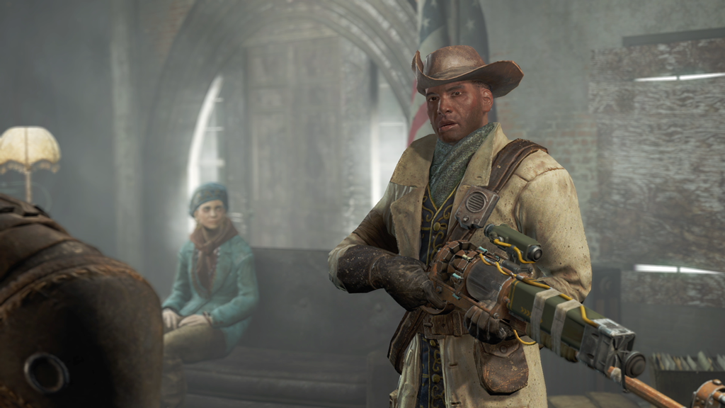 Fallout 4 screenshot Preston Garvey