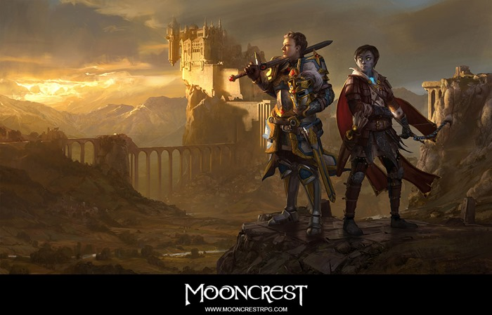 Mooncrest RPG game wallpaper
