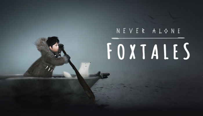 Never Alone: Foxtales logo