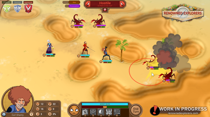 Renowned Explorers screenshot