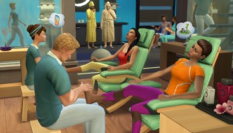 The Sims 4 Spa Day screenshot