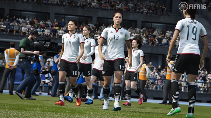 FIFA 16 Germany women's national team screenshot