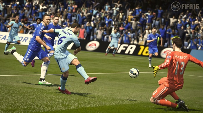 FIFA 16 screenshot Chelsea Man City