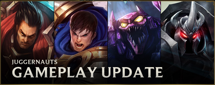 League of Legends juggernaut gameplay update header