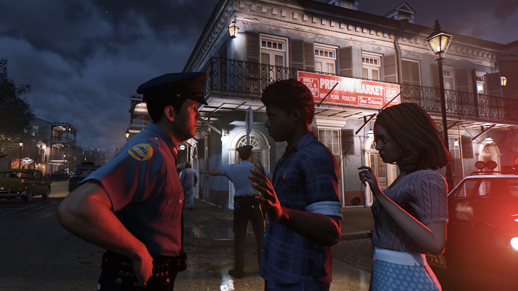 Mafia 3 screenshot cop accosts black couple
