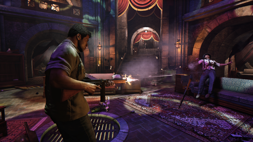Mafia 3 screenshot machine gun