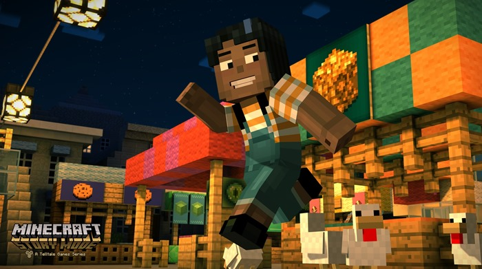 Minecraft Story Mode female character Jesse screenshot