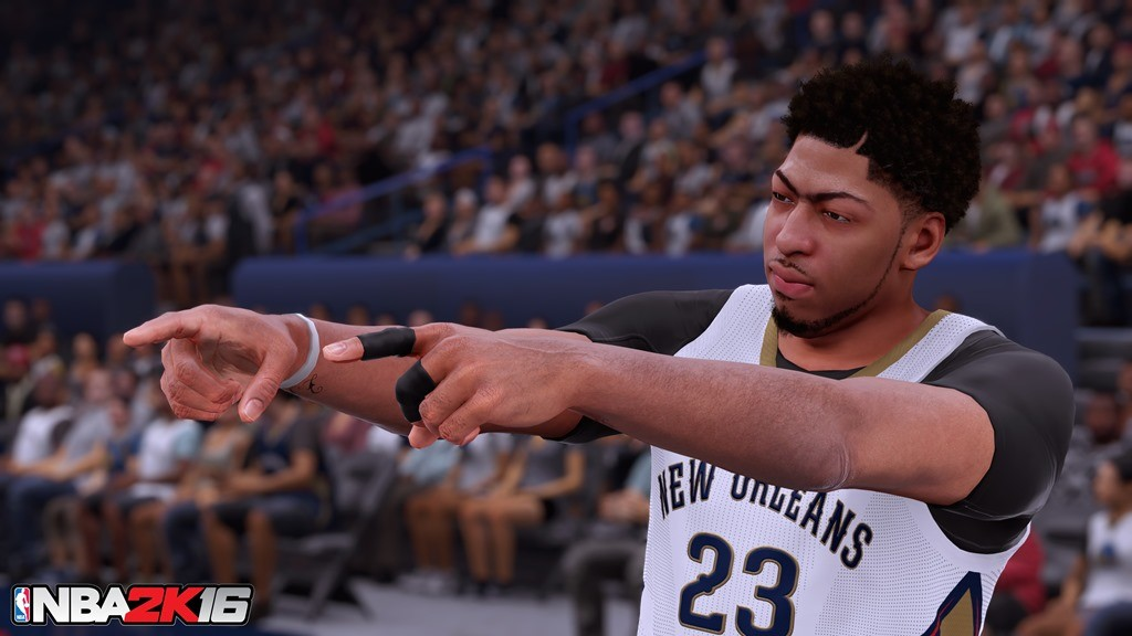 NBA 2K16 screenshot Anthony Davis