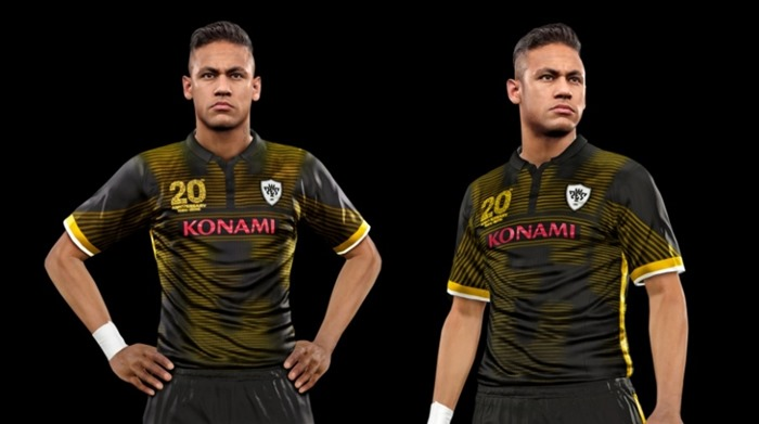 Pro Evolution Soccer 2016 screenshot Neymar PES kit