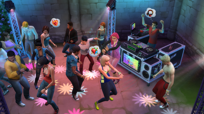 The Sims 4 Get Together screenshot