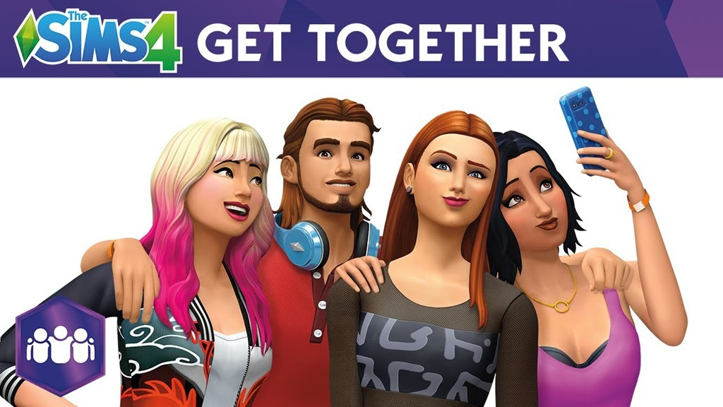 The Sims 4 Get Together wallpaper