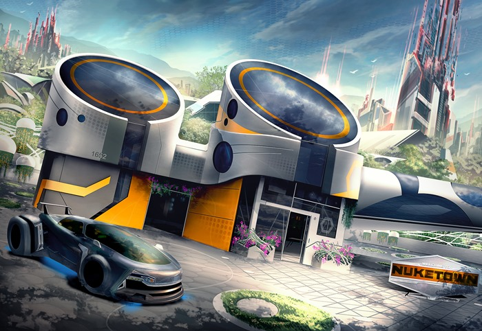 Call of Duty Black Ops 3 Nuketown artwork