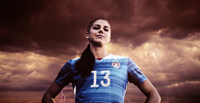 FIFA 16 Alex Morgan TV ad