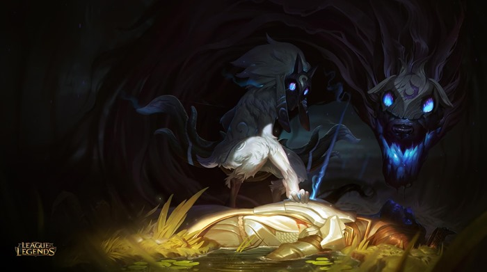 League of Legends champion Kindred wallpaper