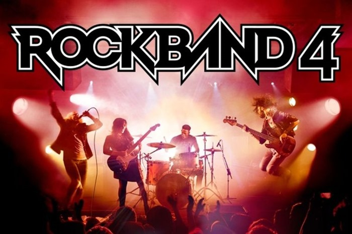 Rock Band 4 career mode header