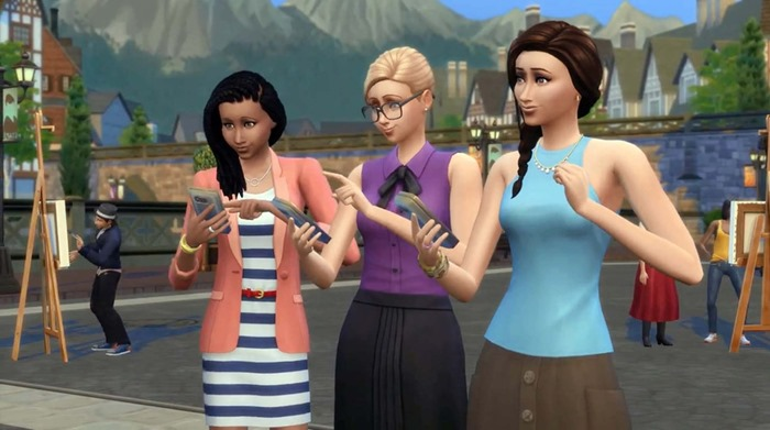 The Sims 4 Get Together screenshot club