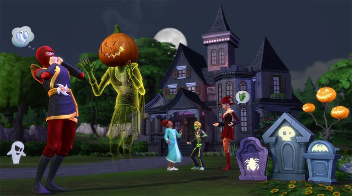 The Sims 4 Spooky Stuff screenshot