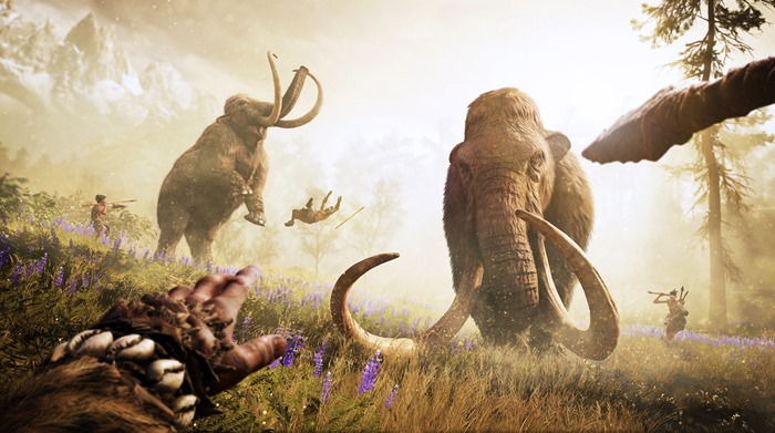 Far Cry Primal woolly mammoth