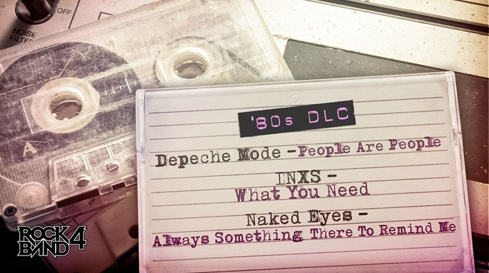 Rock Band 4 80s DLC Depeche Mode INXS Naked Eyes