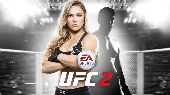 EA Sports UFC 2 Ronda Rousey cover star