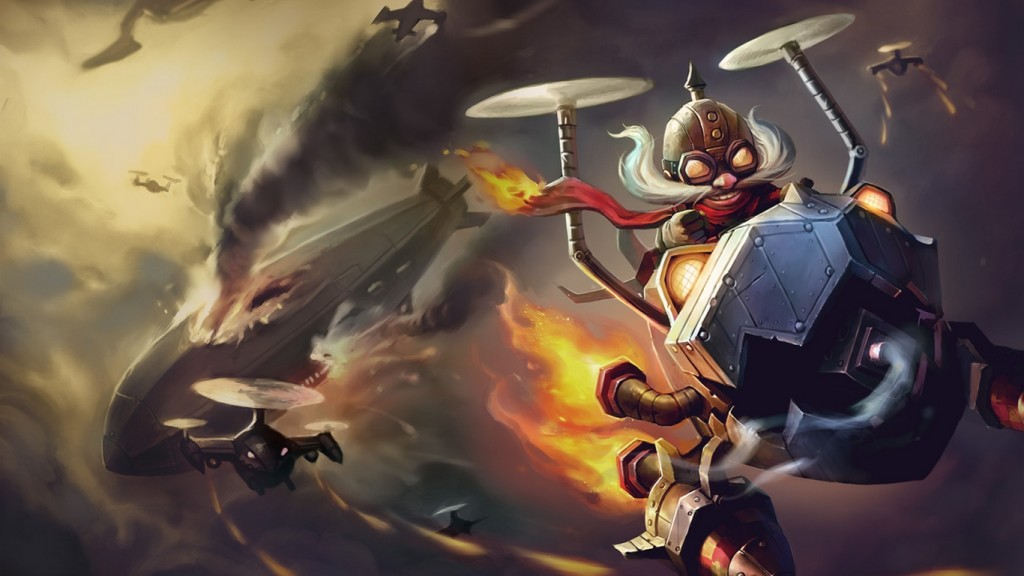 League of Legends Marksman reworks Corki header