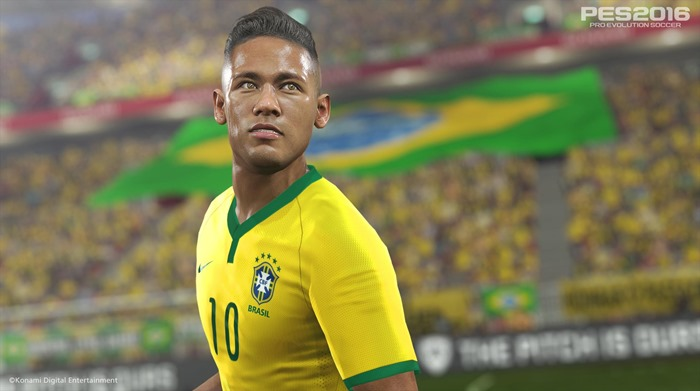 PES 2016 Neymar screenshot