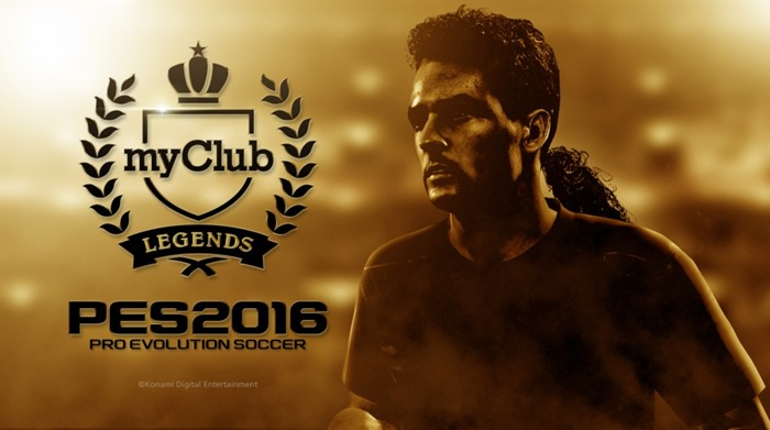 PES 2016 myClub Legends