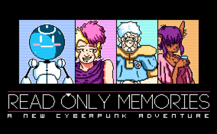 Read Only Memories game PS4, PS Vita