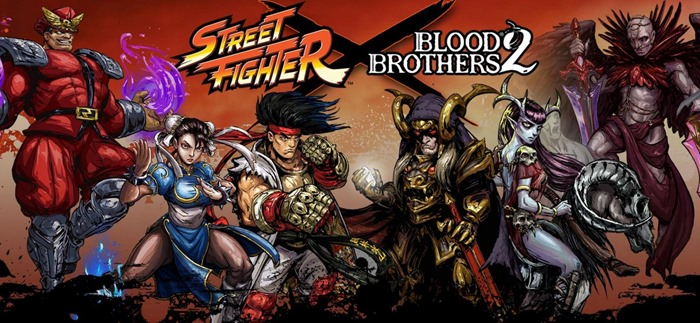 Street Fighter Characters Join Blood Brothers 2