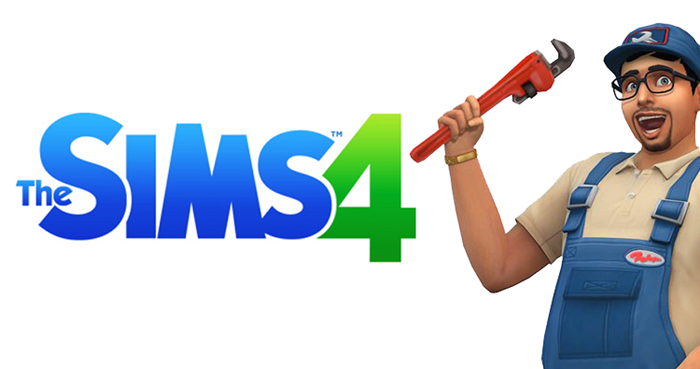 The Sims 4 Repairman update