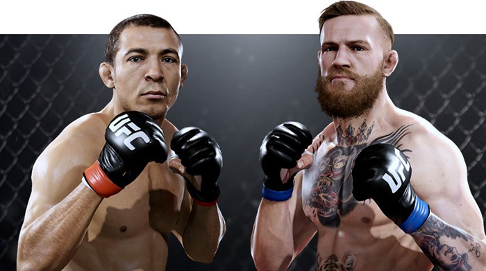 EA Sports UFC 2 cover star fight UFC 194