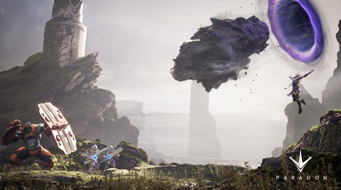Epic Games Paragon announced for PS4