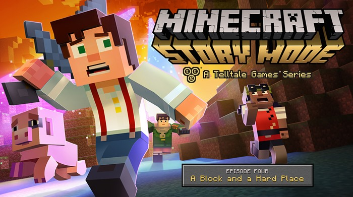 Minecraft Story Mode episode 4 trailer