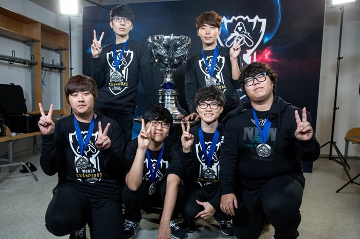 SKT Win League of Legends World Championship 2015