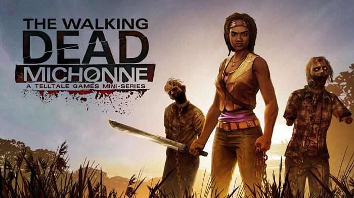 The Walking Dead Michonne trailer The Game Awards 2015