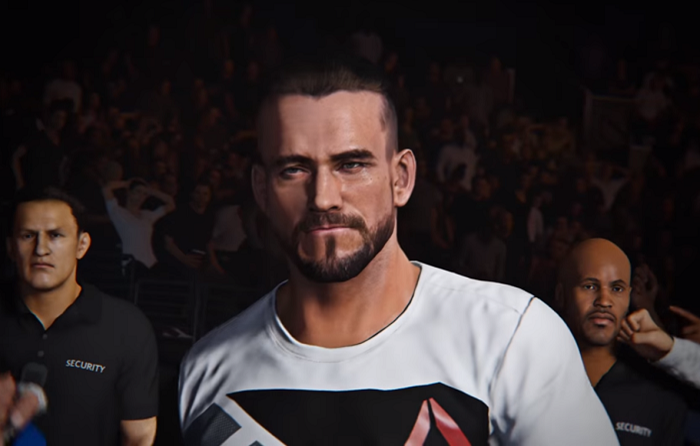 EA Sports UFC 2 CM Punk screenshot