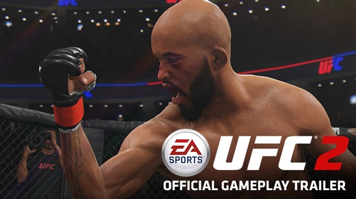 EA Sports UFC 2 gameplay trailer